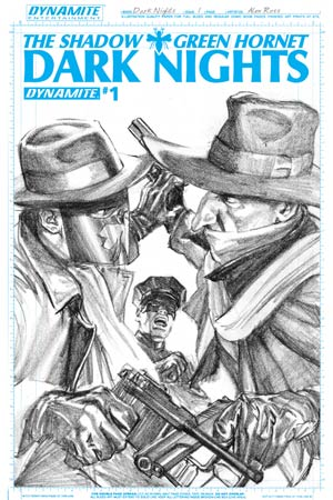Shadow Green Hornet Dark Nights #1 Cover E High-End Alex Ross Artboard Ultra-Limited Cover (ONLY 25 COPIES IN EXISTENCE!)