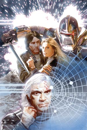 Battlestar Galactica Vol 5 #4 Cover C High-End Alex Ross Virgin Art Ultra-Limited Cover (ONLY 25 COPIES IN EXISTENCE!)