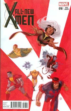All-New X-Men #18 Cover C Variant Julian Totino Tedesco X-Men In The 1970s Cover