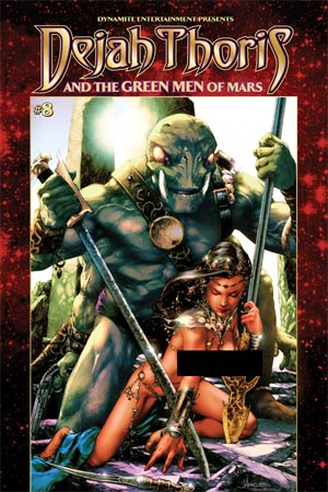 Dejah Thoris And The Green Men Of Mars #8 Cover F High-End Jay Anacleto Risque Color Ultra-Limited Cover (ONLY 50 COPIES IN EXISTENCE!)
