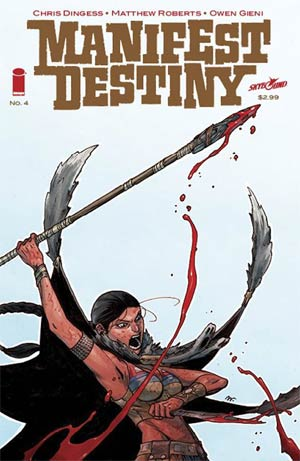 Manifest Destiny #4 Cover A 1st Ptg Regular Matthew Roberts Cover