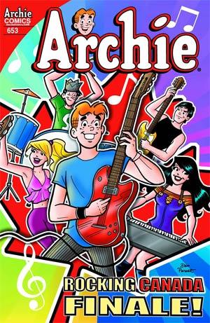 Archie #653 Cover A Regular Dan Parent Cover