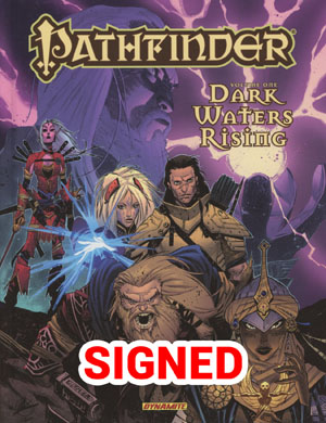 Pathfinder Vol 1 Dark Waters Rising HC Signed By Jim Zub