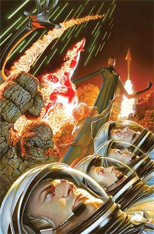 Fantastic Four 75th Anniversary By Alex Ross Poster