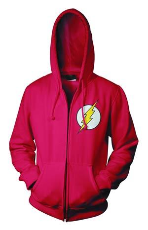 Flash Symbol Full-Zip Hoodie Small
