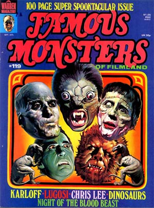 Famous Monsters of Filmland #119