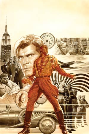 Doc Savage Vol 5 #1 Cover E High-End Alex Ross Virgin Art Ultra-Limited Cover (ONLY 50 COPIES IN EXISTENCE!)