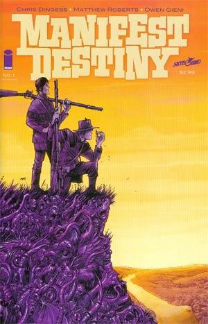 Manifest Destiny #1 Cover C 2nd Ptg