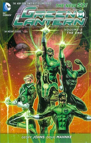 Green Lantern (New 52) Vol 3 The End TP