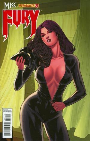 Miss Fury Vol 2 #8 Cover E Incentive Carlos Rafael Risque Variant Cover