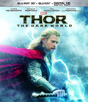 Thor The Dark World 3D Blu-ray DVD