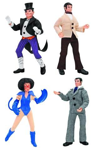 Batman Retro 8-Inch Action Figure Series 2 Complete 4-Figure Set