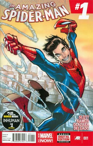 Amazing Spider-Man Vol 3 #1 Cover A 1st Ptg Regular Humberto Ramos Cover