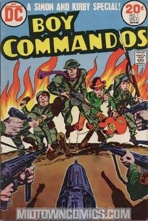 Boy Commandos Vol 2 #1