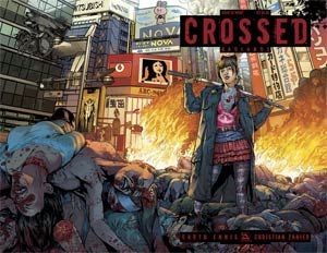 Crossed Badlands #52 Cover B Wraparound Cover