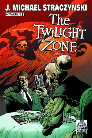 Twilight Zone Vol 5 #1 Cover K DF Fat Jacks Comicrypt Exclusive Color Variant Cover
