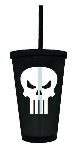 Marvel Heroes Symbol Acrylic Cup - Punisher