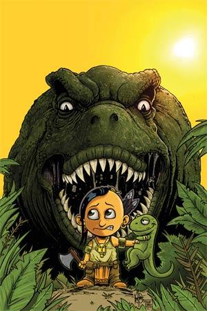 Turok Dinosaur Hunter Vol 2 #1 Cover U High-End Ken Haeser Virgin Art Ultra-Limited Variant Cover (ONLY 25 COPIES IN EXISTENCE!)