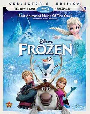 Frozen Blu-ray DVD