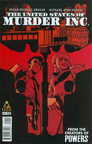 United States Of Murder Inc #1 Cover A 1st Ptg Regular Michael Avon Oeming Cover