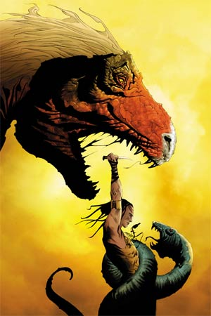 Turok Dinosaur Hunter Vol 2 #2 Cover K High-End Jae Lee Virgin Art Ultra-Limited Variant Cover (ONLY 25 COPIES IN EXISTENCE!)
