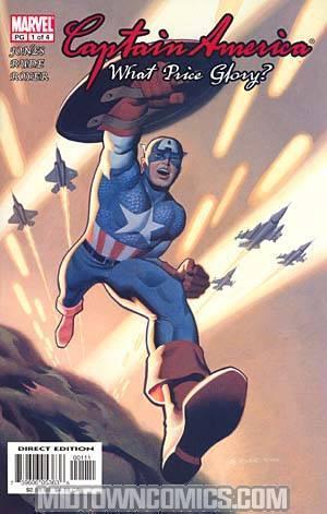 Captain America What Price Glory #1