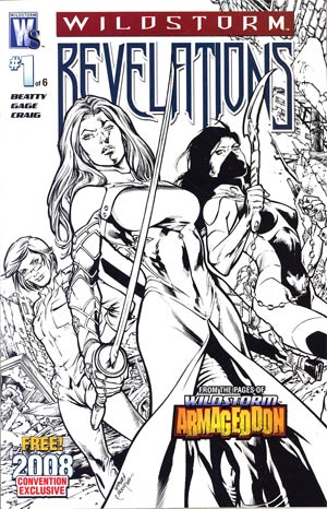Wildstorm Revelations #1 Cover B 2008 Convention Exclusive