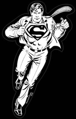 Dc Comics Family Car Window Sticker 4x7 Inch Superman Clark Kent Midtown Comics