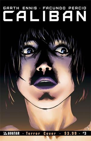 Caliban #3 Cover C Terror Cover