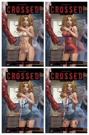 Crossed Badlands #50 Coed Dread 4-Cover Set