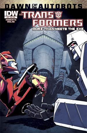 Transformers More Than Meets The Eye #30 Cover B Variant Nick Roche Subscription Cover (Dawn Of The Autobots Tie-In)