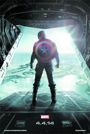 Captain America The Winter Soldier Blu-ray DVD