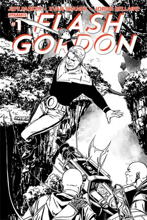 Flash Gordon Vol 7 #1 Cover K High-End Marc Laming Black & White Ultra-Limited Variant Cover (ONLY 25 COPIES IN EXISTENCE!)