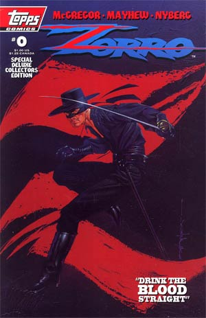 Zorro Vol 4 #0 (Topps Comics) Special Deluxe Collectors Edition