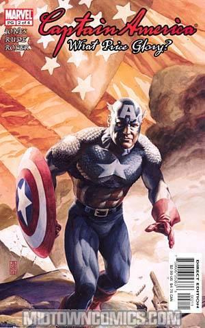 Captain America What Price Glory #2