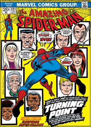 Marvel Comics 2.5x3.5-inch Magnet - Amazing Spider-Man 121 (71198MV)