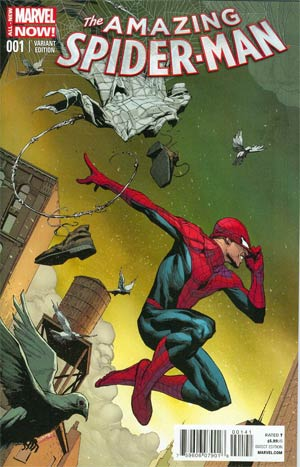 Amazing Spider-Man Vol 3 #1 Cover L Incentive Jerome Opena Color Variant Cover