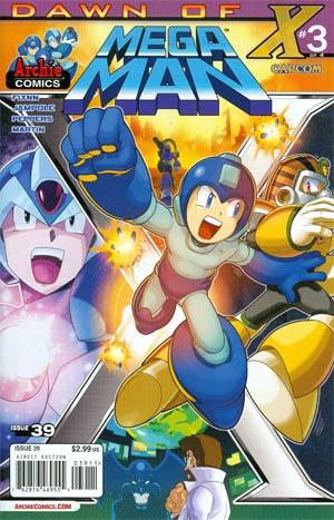 Mega Man Vol 2 #39 Cover A Regular Patrick Spaz Spaziante Cover