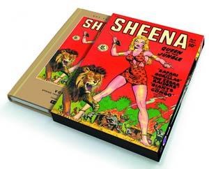 Roy Thomas Presents Sheena Queen Of The Jungle Vol 1 HC Slipcase Edition