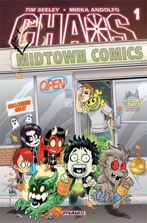 Chaos #1 Cover I Variant Midtown Comics Retailer Shared Exclusive Cover