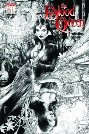Blood Queen #1 Cover J Ultra-Rare Jay Anacleto Variant Cover Signed By Troy Brownfield