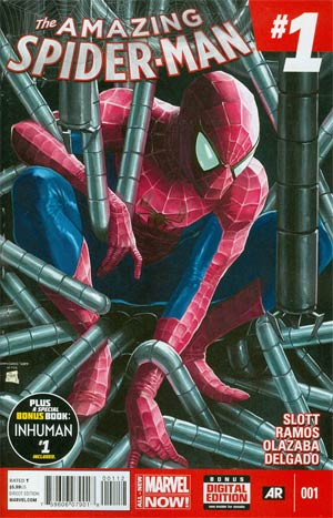 Amazing Spider-Man Vol 3 #1 Cover Z 2nd Ptg Gary Choo Variant Cover