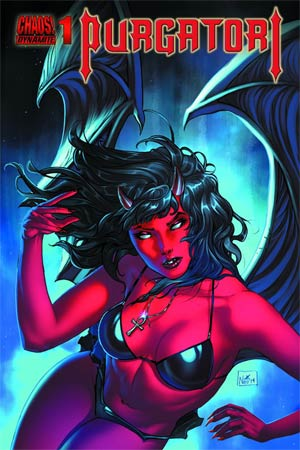 Purgatori Vol 3 #1 Cover J Silver Elite Edition Signed By Nei Ruffino