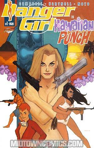 Danger Girl Hawaiian Punch Cover B Phil Noto Cover