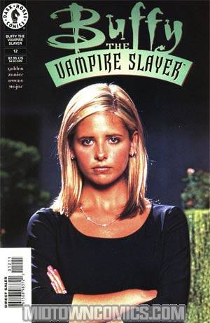 Buffy The Vampire Slayer #12 Photo Cvr