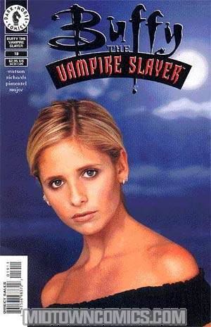 Buffy The Vampire Slayer #19 Photo Cvr