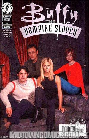 Buffy The Vampire Slayer #21 Photo Cvr