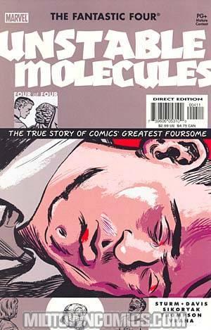 Fantastic Four Unstable Molecules #4