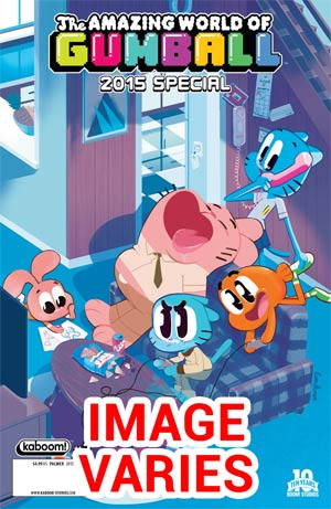 DO NOT USE (DUPLICATE LISTING) Amazing World Of Gumball Special 2014 #1 Cover A/B Regular Covers (Fi
