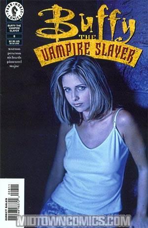 Buffy The Vampire Slayer #8 Photo Cvr